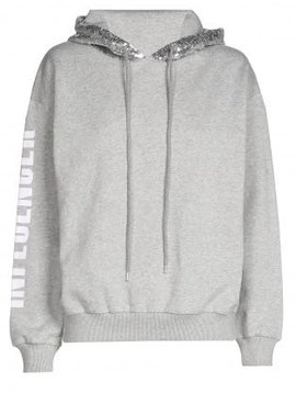 O'Rèn Hoodie  – INFLUENCER GREY sequin