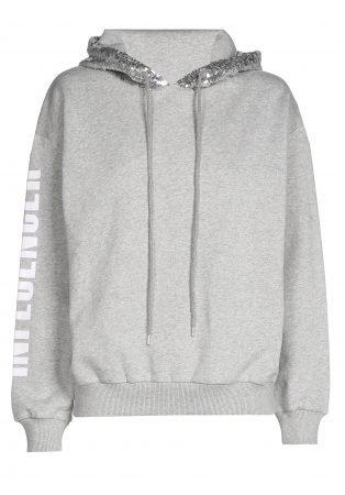 O'Rèn Hoodie  – INFLUENCER grey sequin
