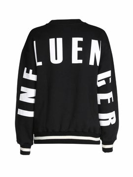 O'Rèn Sweater black - INFLUENCER on back