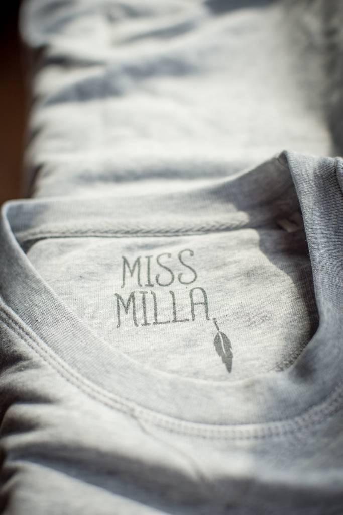 Miss Milla NAMASTE sweater grijs
