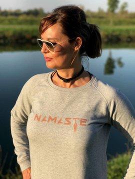 Miss Milla NAMASTE sweatshirt gris