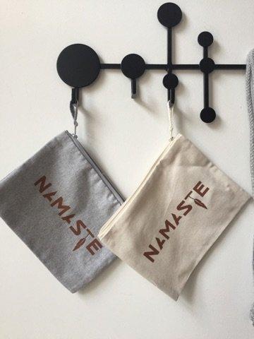 Miss Milla NAMASTE  pencilcase/make-up bag  natural