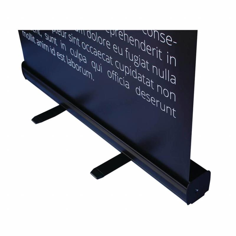 Billige roll up banner sort