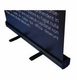 Roll Up Schwarz 85x200 cm