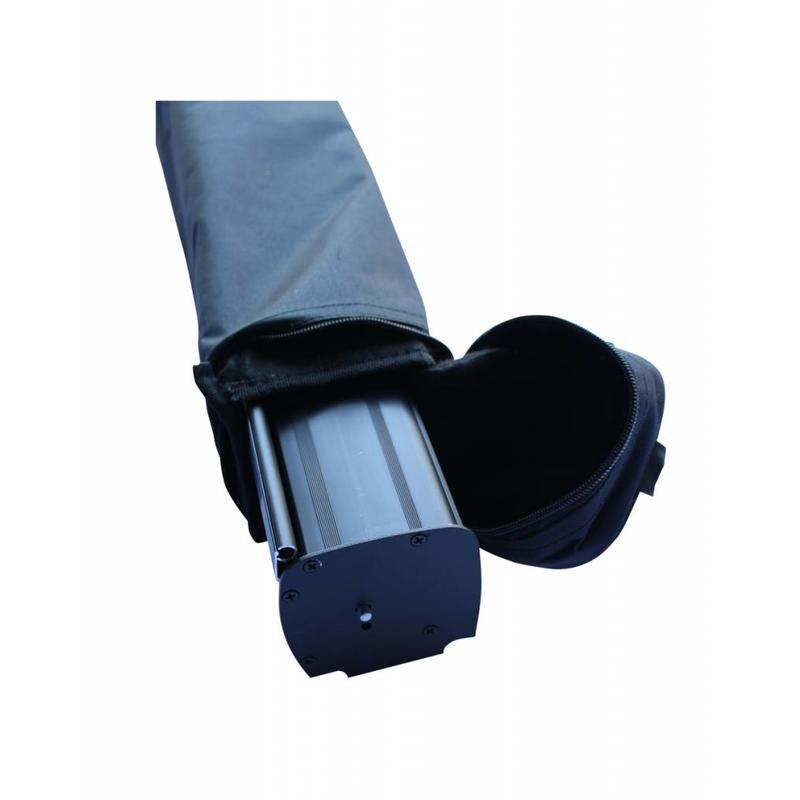 Roll Up Schwarz 100x200 cm