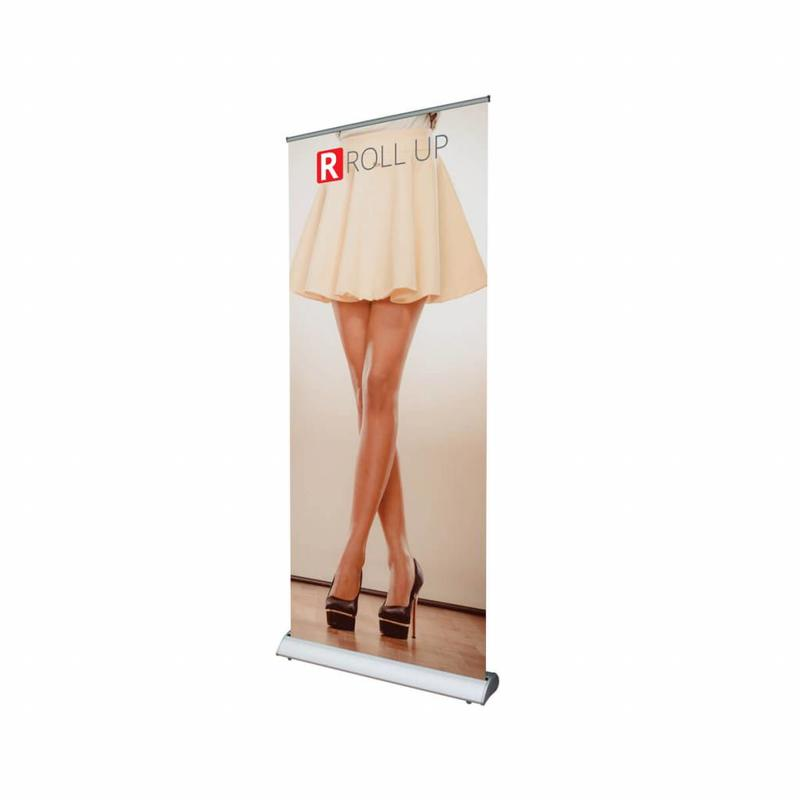 Stilvolles Roll-Up Deluxe-Banner bestellen.