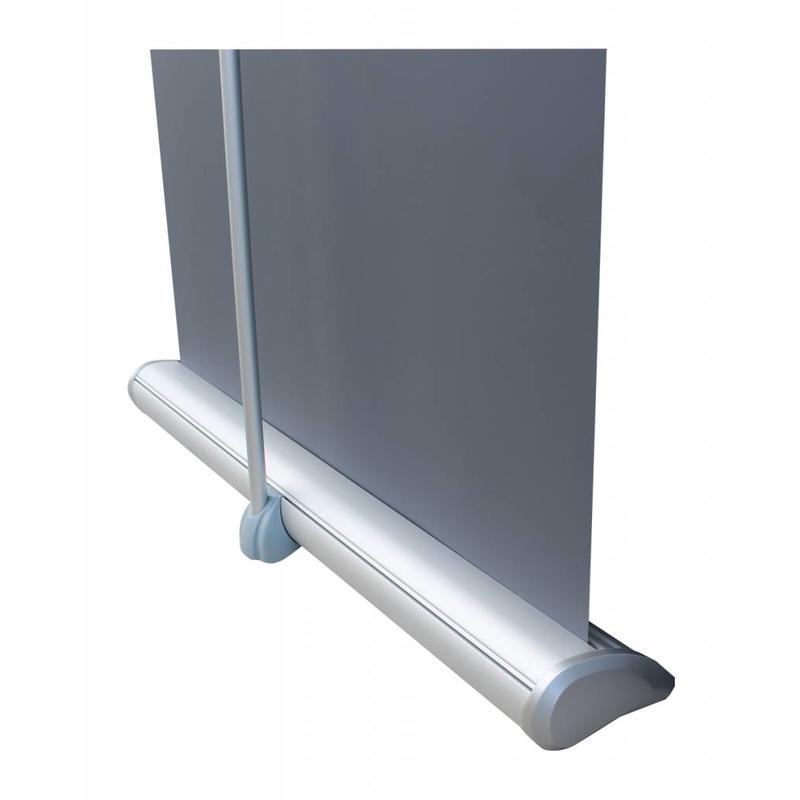 Order a stylish roll up deluxe banner.