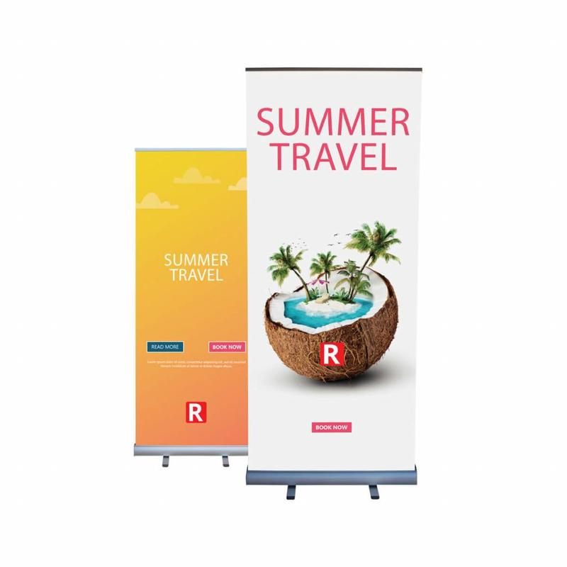 Roll up double sided 85x200 cm