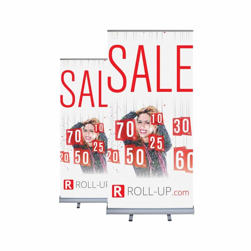 Roll up double sided 100x200 cm