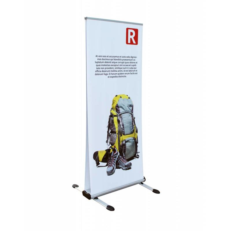 Roll up outdoor double sided