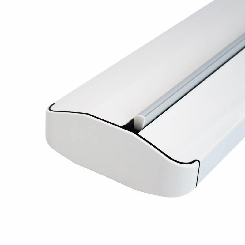 Estructura roll up blanca superior
