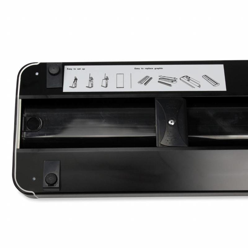 Cassetta roll up superior nera