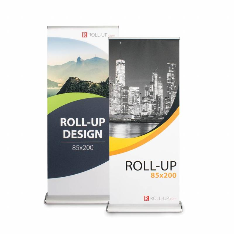 Roll up a dos caras deluxe 85x200 cm