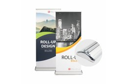 Roll up dubbelsidig deluxe
