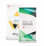 Roll up fronte-retro deluxe 100x200 cm