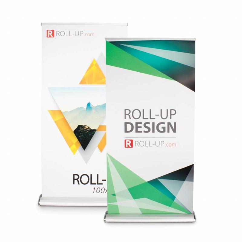 Roll up dobbeltsidet deluxe 100x200 cm