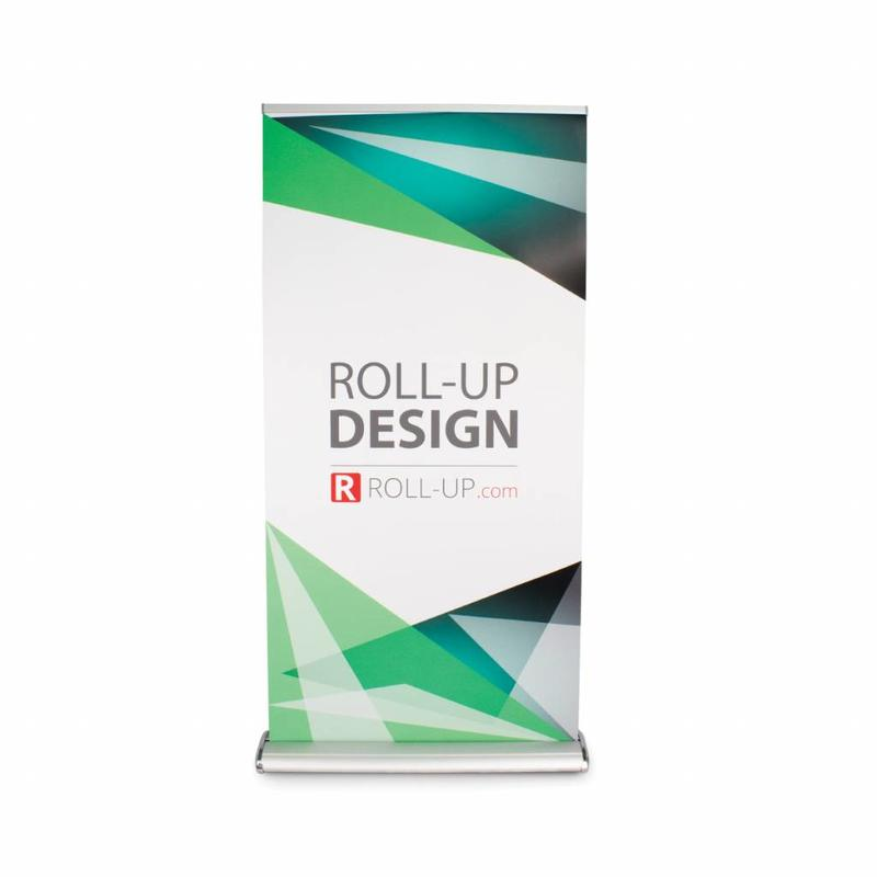 Roll up double sided deluxe 100x200 cm