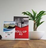Roll up mini er et ideelt blikkfang i liten skala.