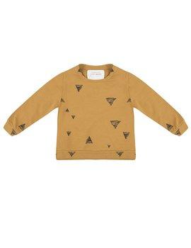 Little Indians Triangle Sweater Oker