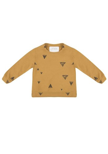 Little Indians Triangle Sweater Oker