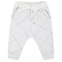 thumb-Little Indians Angled Grid Pants-1