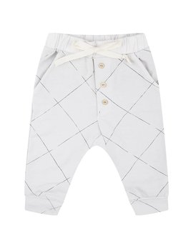 Little Indians Angled Grid Pants