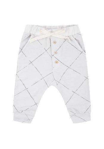 Angled Grid Pants
