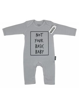 Cribstar Romper playsuit Not Your Basic Baby
