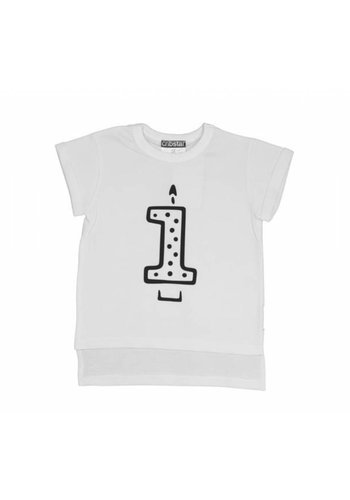 T-shirt 1th B-day Candle