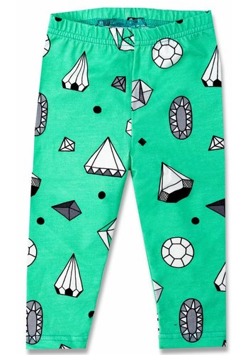Legging Diamonds mintgroen