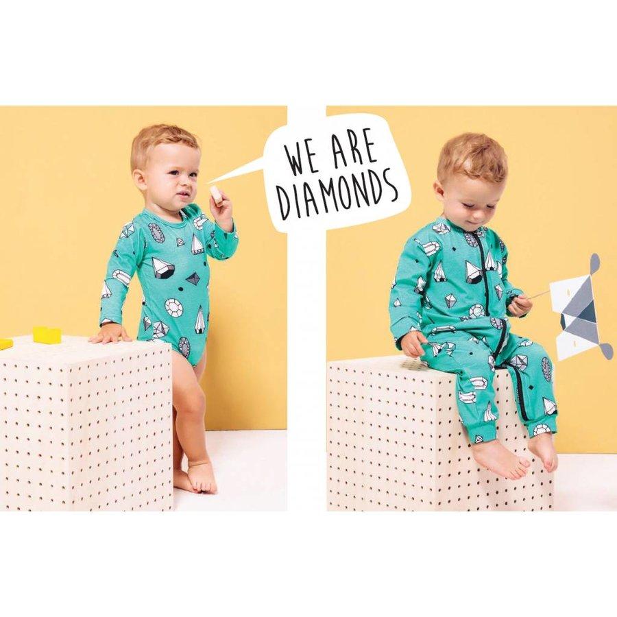 Rapsberry Republic Pyjamasuit Diamonds-5