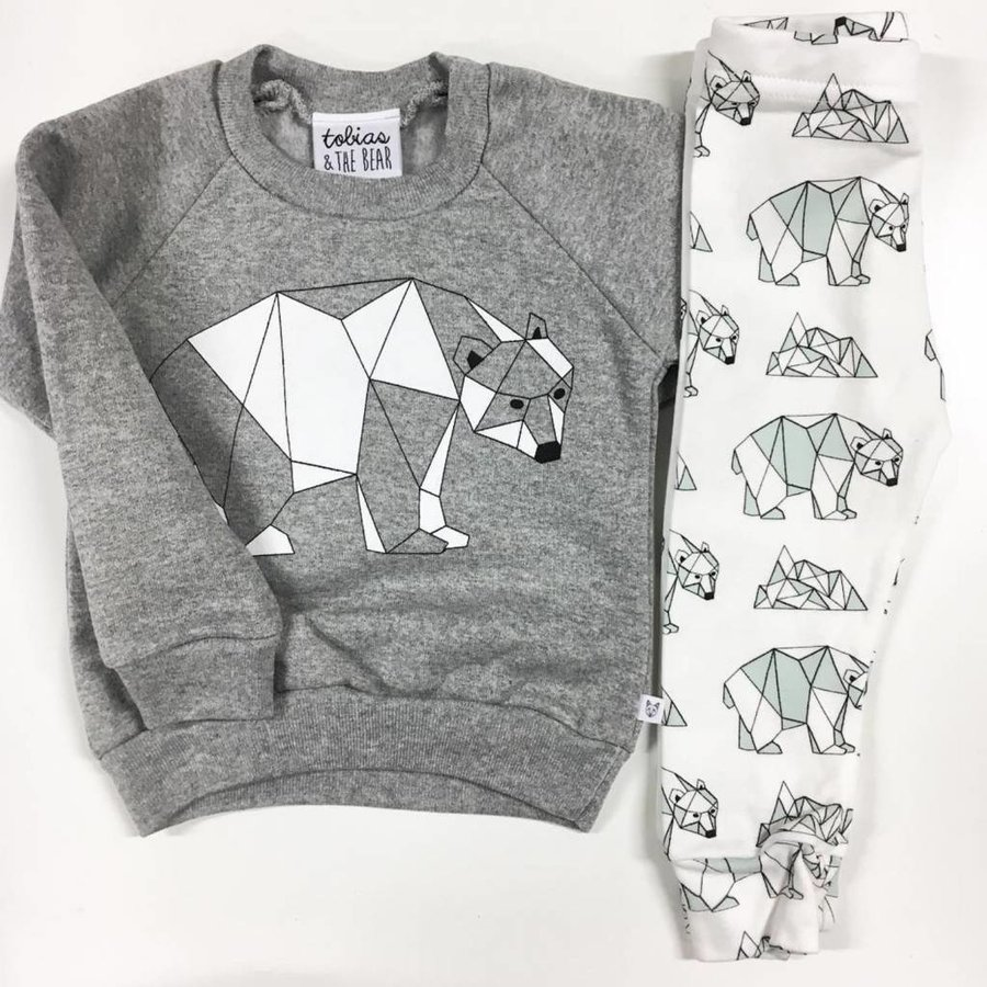 Tobias and The Bear Polar Bear Legging