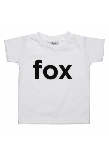 Tobias & the Bear T-shirt I'm a Fox