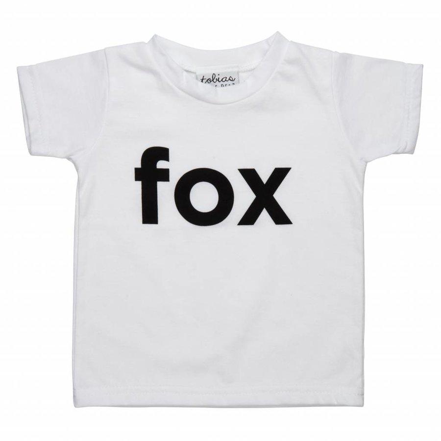 Tobias & The Bear T-shirt I'm a Fox-1