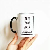 thumb-Cribstar porseleinen mok/koffietas Not Your Basic Mumma-2