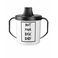 thumb-Cribstar Drinkbeker Not Your Basic Baby-1