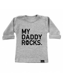 vanPauline Longsleeve My Daddy Rocks