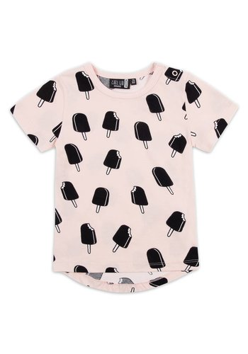 T-shirt Ice Cream Pink