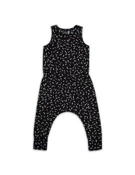 CarlijnQ   Jumpsuit Sprinkles zwart