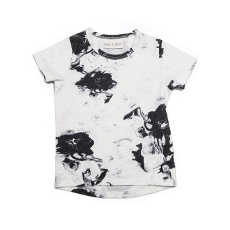 House of Ninoh T-shirt Paintmix Marble-1