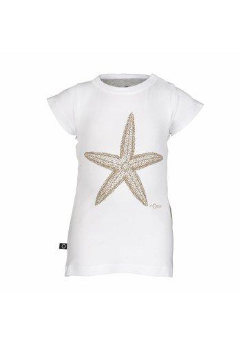T-shirt Frill Zeester