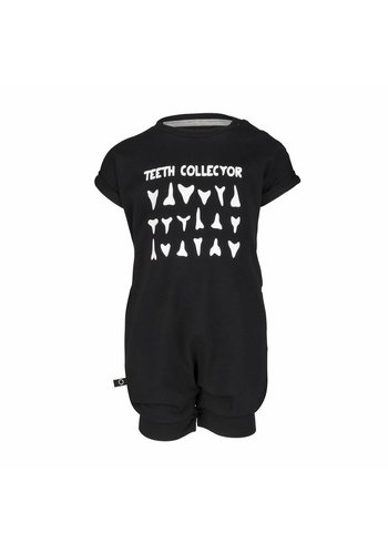 Playsuit Teeth Collector Zwart