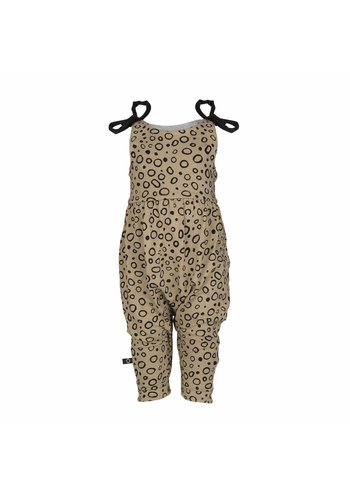 nOeser Jumpsuit Bow Ray Zandkleur