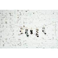 thumb-CarlijnQ - Sokken Sprinkles Zwart-2
