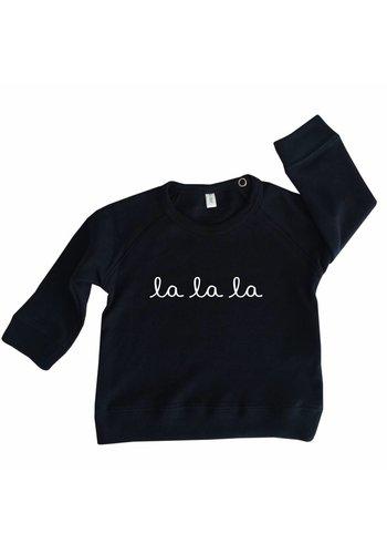 Sweatshirt LA LA LA navy
