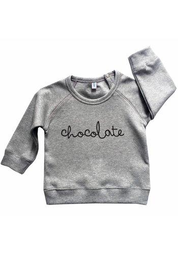 Sweatshirt CHOCOLATE grijs