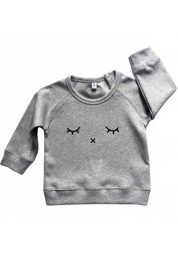 Sweatshirt SLEEPY grijs