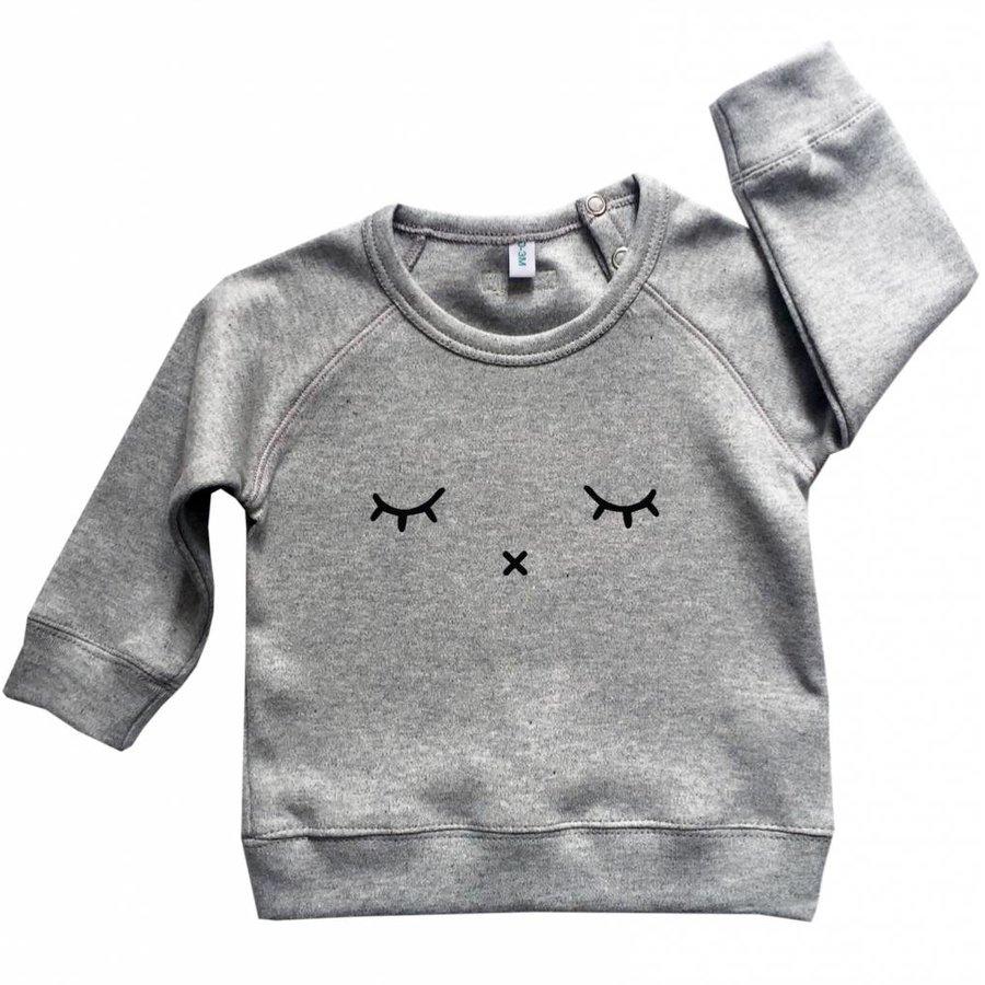 Organic Zoo Sweatshirt SLEEPY Grijs
