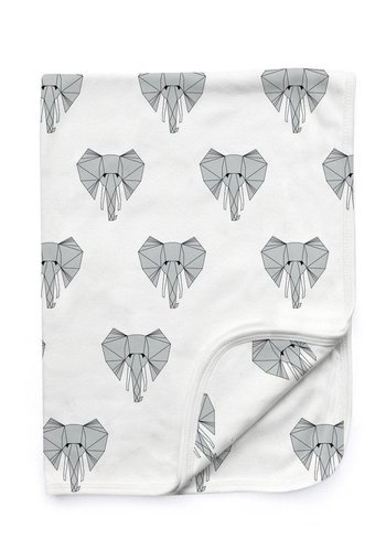 Ned the Elephant Baby Blanket