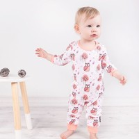thumb-Aster & Oak Playsuit Woodland Owl-2